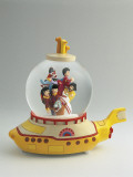 Figurines of the Beatles Band in a Snow Globe Photographic Print