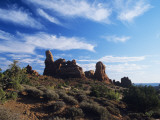 Rock Formations, Arches National Park, Utah, Usa Photographic Print by Alex Adams