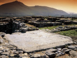 Ruins of a Palace, Tiryns, Peloponnese, Greece Photographic Print by De Agostini