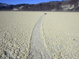 California, Death Valley National Park, One of the Mysterious Moving Rocks at the Race Track Photographic Print by Brian Schultz
