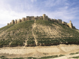 Low Angle View of a Citadel on Top of a Hill, Aleppo, Syria Photographic Print by De Agostini