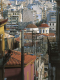 High Angle View of Buildings in a City, Plaka, Attica, Athens, Greece Photographic Print by De Agostini