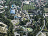 Aerial View of an Amusement Park, Castelnuovo Del Garda, Province of Verona, Veneto, Italy Photographic Print by G. Gnemmi
