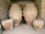 Close-Up of Storage Jars, Palace of Minos, Knossos, Crete, Greece Photographic Print by De Agostini