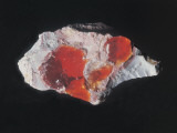 Close-Up of Fire Opal Photographic Print by C. Bevilacqua