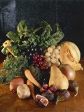 Close-Up of Fruits and Vegetables Photographic Print by P. Martini