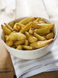 Potatoe Wedges Photographic Print by Elisabeth Coelfen