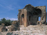 Low Angle View of a Ruined Building, Roccelletta Di Borgia, Calabria, Italy Photographic Print by L. Romano
