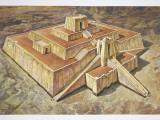 Great Ziggurat of Ur, Illustration Photographic Print