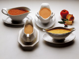 High Angle View of Bowls of Sauces Photographic Print by G. Majno