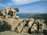 Rock Formations at the Coast, Capo D'Orso, Palau, Sardinia, Italy Photographic Print by A. Vergani