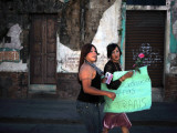 Transsexuals March in Guatemala City On Photographic Print by Eitan Abramovich