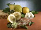 Close-Up of Juicers with Lemons Photographic Print by P. Martini