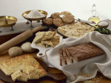 Close-Up of Focaccia Breads Photographic Print by M. Sarcina