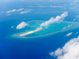 Flying over Okinawa Islands of Japan Photographic Print by Ippei Naoi