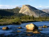 Lambert Dome and Tvolume River Yosemite Np, California Usa Photographic Print by Jeff Foott
