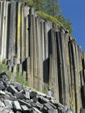 Basalt Columns of Devil's Postpile National Monument, California, Usa Photographic Print by Jeff Foott