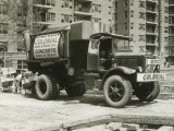 Cement Truck Photographic Print by George Marks