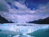 Winter clouds float over Moreno Glacier, Parque Nacional Los Glaciares, Argentina, Patagonia Photographic Print by Jeff Foott