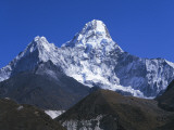 Detailed View of Ama Dablam as Seen from Pangboche Photographic Print by Jeff Foott