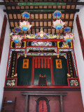 China, Hong Kong, Family Shrine Inside Traditional Kejia People&#39;s House Photographic Print by Keren Su