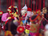 China, Yunnan Province, Dolls of Ethnic People Photographic Print by Keren Su