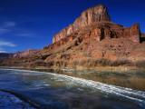 Usa, Utah, Colorado, Riverway Photographic Print by Jeff Foott