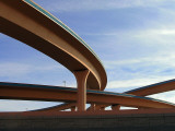 I-25/I-40 Interchange in Albuquerque Photographic Print