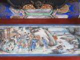 China, Beijing, Summer Palace, Painting on the Long Corridor Photographic Print by Keren Su