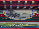 China, Tianjin, Painting on Traditional Architecture Photographic Print by Keren Su