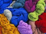 China, Colorful Yarn Photographic Print by Keren Su