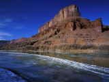 Ice Covers the Colorado River Photographic Print by Jeff Foott