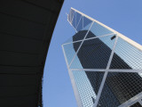 China, Hong Kong, Buildings in Downtown Dominated by Bank of America Photographic Print by Keren Su