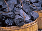 China, Coal in Basket Photographic Print by Keren Su
