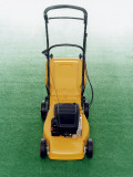 A Lawn-Mower on a Lawn Photographic Print