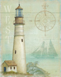 West Coastal Light Print by Daphne Brissonnet