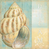 Soft Beach Quote II Prints by Daphne Brissonnet