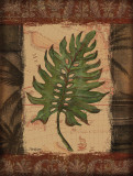 Tropical Leaf II Poster by Todd Williams