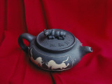 China, Jiangsu Province, Yixing, Famous Earthenware Teapot Photographic Print by Keren Su