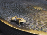 China, Frog on Bronze Drum, Close Up Photographic Print by Keren Su