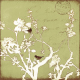 Song Birds II Kunstdrucke von Amy Melious