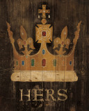 Her Majesty&#39;s Crown Poster par Avery Tillmon