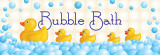 Bubble Bath Posters by N. Harbick