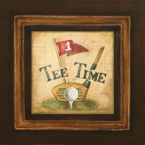 Golf Tee Time Art by Gregory Gorham