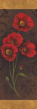 Red Poppy Panel II Print by Jordan Gray