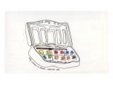 My Watercolor Set Edio limitada por John Woolley
