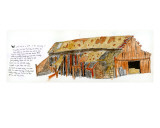 Broken Barn Edio limitada por John Woolley
