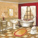 Florentine Bath Affiche par Gregory Gorham
