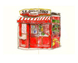 S.F. Gourmet Dogs Edio limitada por John Woolley