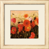 Poppy Party Art by Shirley Novak